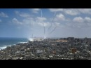 Перехват ракет Хамаса над Тель Авивом