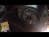 Мерседес w221 замена передних тормозных колодок