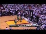Lebron James Oop over Rondo vs Celtics Game 7 ECF 2012