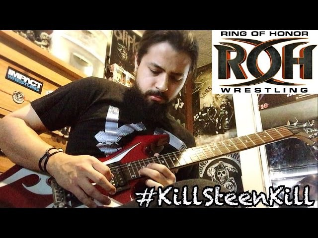 Kevin Steen Unsettling Differences ROH theme guitar cover
