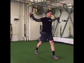 TRX Monday Move - TRX Lunge with T-Fly