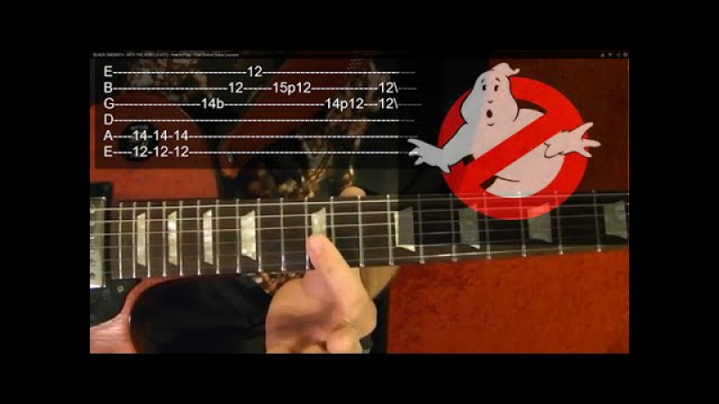 GHOSTBUSTERS Theme - Guitar Lesson✅✅🎵