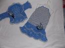 Вязание крючком Нарядное платье Часть 1 Knitting by a hook Good looking dress
