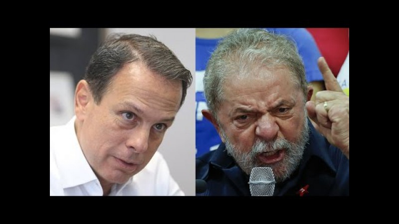 Vídeo em que Doria massacra Lula viraliza na web: 'sem-vergonha, mentiroso, covarde'