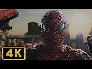 Питер Паркер создаёт костюм и Веб Шутеры Человека Паука | Новый Человек-паук | 4K UL...
