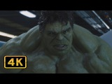Халк против Тора Бой на Геликарриере Мстители 4K ULTRA HD