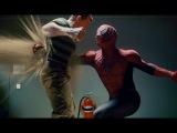 Человек паук против Песочного Человека