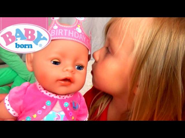 Неожиданное Пополнение в Нашей Семье ♥ МАЛЫШКА Диана ♥ baby born Diana ♥