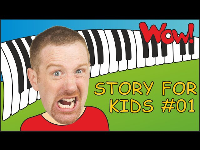Story for Kids from Steve and Maggie 01 English for Children Kids TV