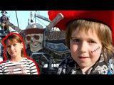 Детское Видео ☠ #ПИРАТЫ и СОКРОВИЩА 💎 #Игробой Адриан на Шхуне! Активный отдых И...