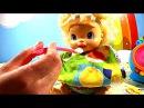 Мультик с куклами Мамы и Малыши Куклы как живые Пупсик кушает, какает Беби Элайв Катя на русском