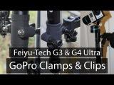 Feiyu Tech - G4 &amp G3 Ultra GoPro ClampsClip