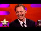 Tom Hiddleston Gets Flustered Talking James Bond Rumours - The Graham Norton Show