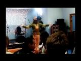Праздничный концерт 2017 года. Мохнатый шмель в стиле Катхакали ( индийского танца )