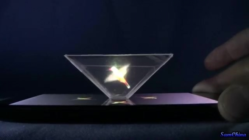 3D-проектор для запуска голограмм своими руками.Turn your Smartphone into a 3D Hologram.