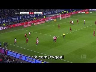 Гамбург 1-0 Фрайбург | Хунт