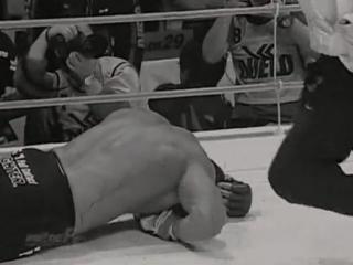 Обладает самым сильным в истории MMА ударом Маваши_ левая нога КроКопа бьет 2703