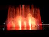 Олимпийский парк, поющие фонтаны  Евгений Дога, вальс из к-ф Мой ласковый и нежный зверь