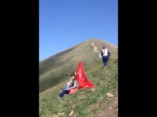 Восхождение на гору Бештау в честь Дня Победы,6 мая