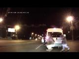 смотреть до конца!!!УМОРА!!Лунтик, Микки Маус и Спанч Боб избили водителя в Челябинске..)))