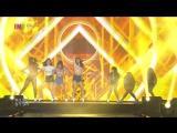 I.O.I - Whatta Man @ INK Incheon K-pop Concert 161016