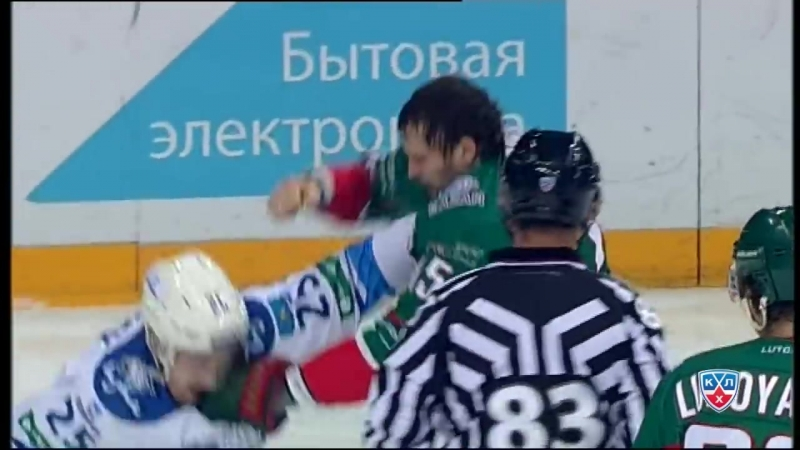 Бой КХЛ Свитов VS Рыспаев KHL Fight Svitov VS Ryspayev