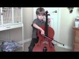 Saint-Saens cello concerto, mov 1 (Keenan, age 8).