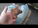 Промыть радиатор печки не снимая. С помощью пластиковой тары