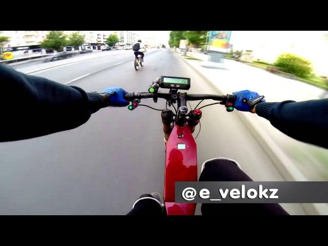 Электровелосипед 5000 и 3000Вт