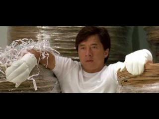 Джеки Чан и Брэдли Джеймс Аллан в фильме - Великолепный.Фрагмент.