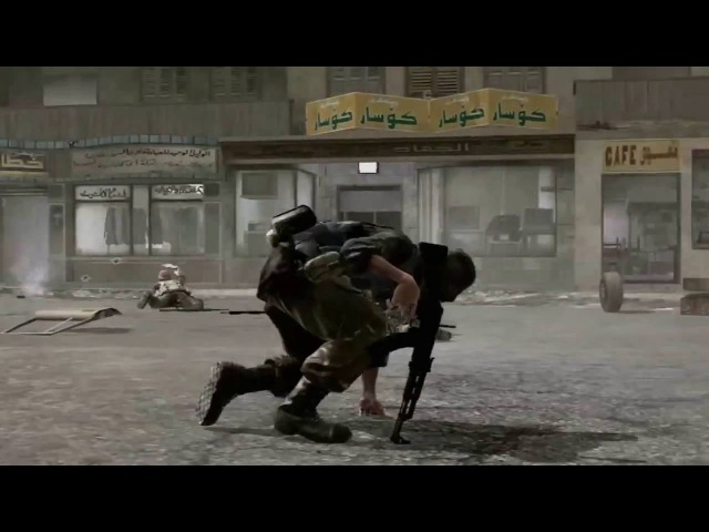 Трейлер серии Call of Duty 4 Modern Warfare