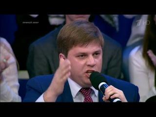 """Андрей Лесик на Первом канале: """"Иду в Верховную раду, чтобы разогнать ее"""""""