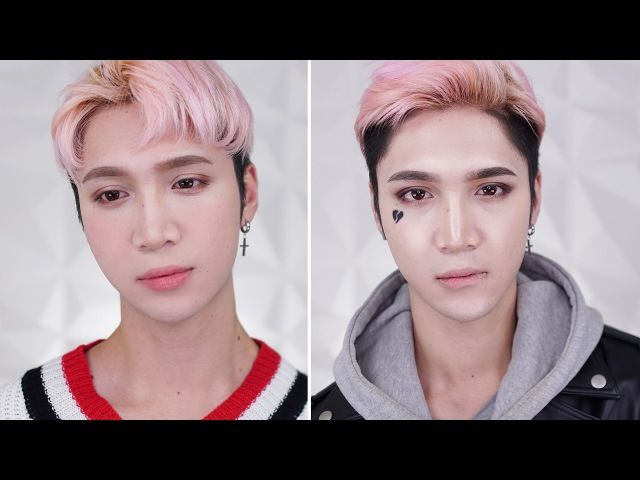 Valentine's / Anti-Valentine's Day Makeup - Edward Avila