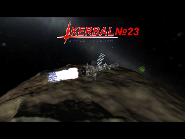 Kerbal Space Program карьера №23(Tylo ,Bop , человек на Pol)