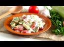 САЛАТ с жареными кабачками / Быстрый сытный вкусный салат