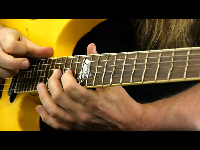 Tonalità e tapping Pt 1 Mattias Eklundh Guitar Lesson