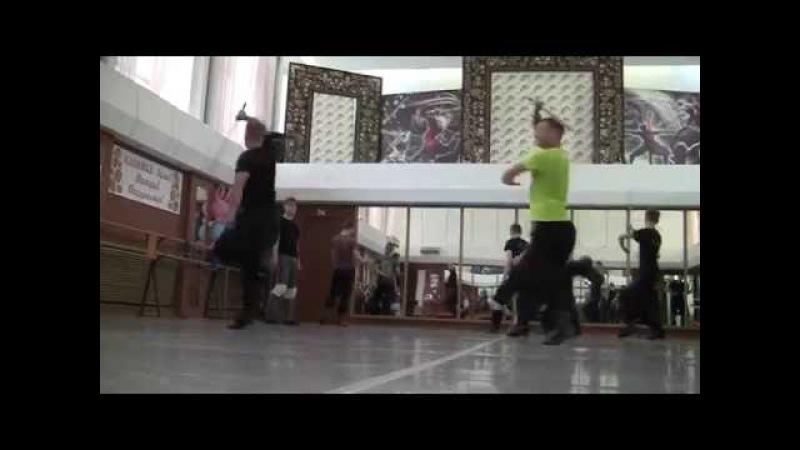 Новый Казачий танец. Работа с шашкой. Сибирский Сувенир, ансамбль танца Калинка Новокузнецк