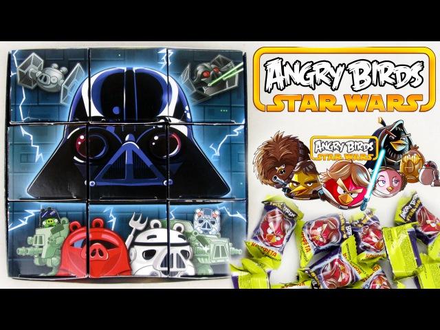 Сладкий подарок с игрушкой Angry Birds Star Wars Конфитрейд
