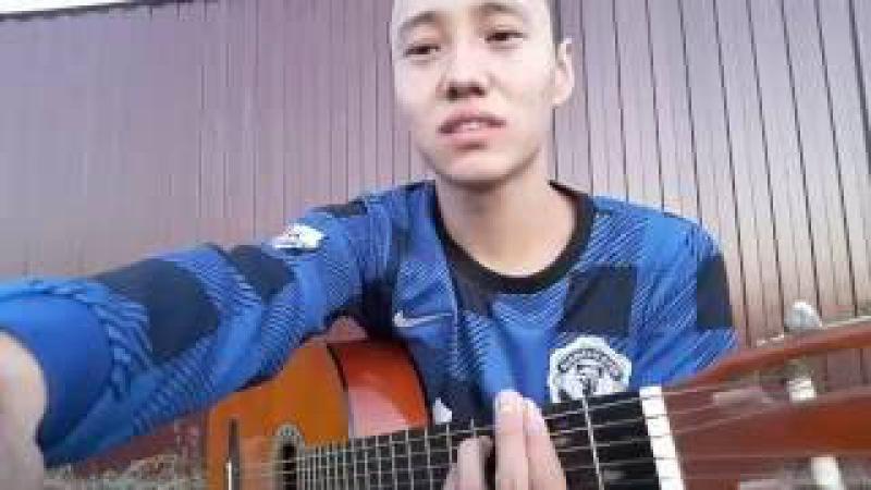 Анге арнадым анимди на гитаре