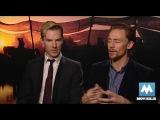 Benedict Cumberbatch &amp Tom Hiddleston - Stars of War Horse, Sherlock, Star Trek &amp Thor