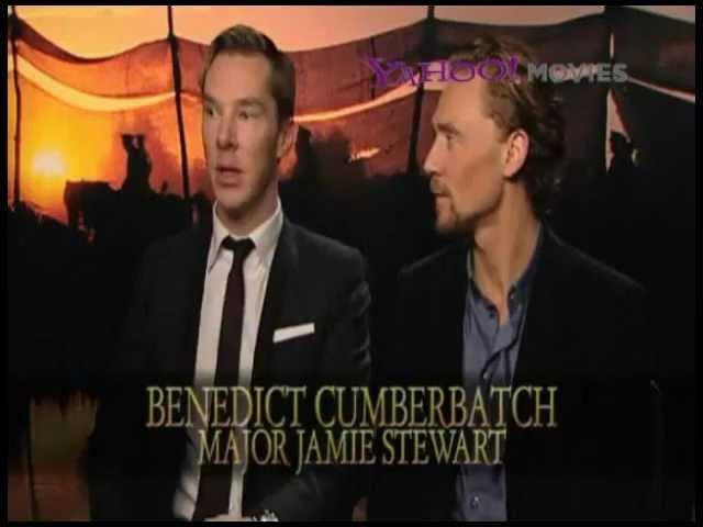 Benedict Cumberbatch and Tom Hiddleston - War Horse Press Junket 5