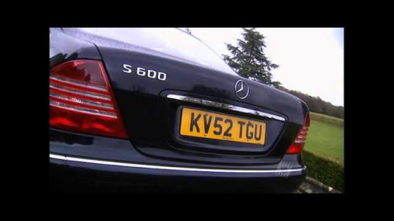 Mercedes Benz S class W220 S600 Top Gear Топ Гир