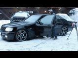 BACKSTAGE - BRABUS 7.3 S W140 V12! Как проходили съемки легенды…) Mercedes-Benz S-Class