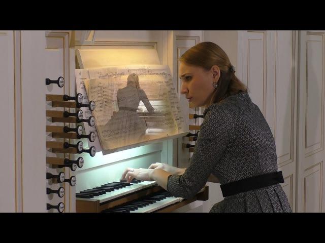 Иоганн Себастьян Бах - Прелюдия и Фуга BWV546 07.06.2016 Ирина Розанова (орган)