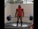 Эрик Лиллибридж - тяга 370 кг