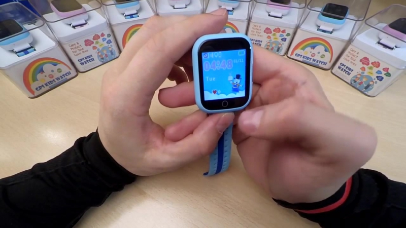 Обзор и инструкция детских часов с GPS трекером WONLEX GW200S
