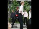 [FANCAM] NUEST: На мини-фанмитинге после Music Core (15.10.16)