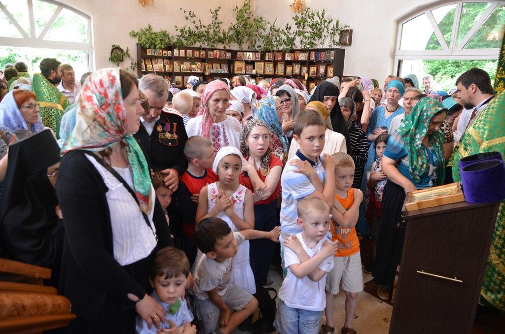 День Святого Духа отметили в Зеленчукском районе