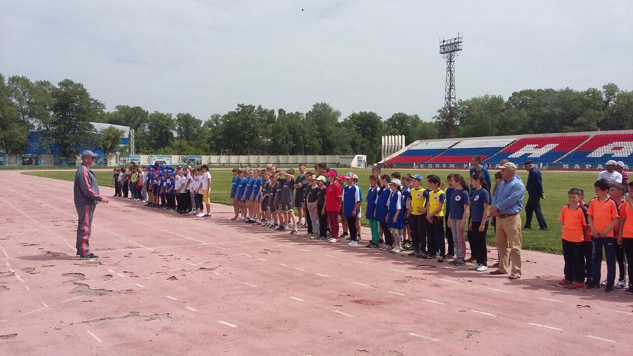 Школьники из станицы Кардоникской призеры республиканского этапа Президентских состязаний