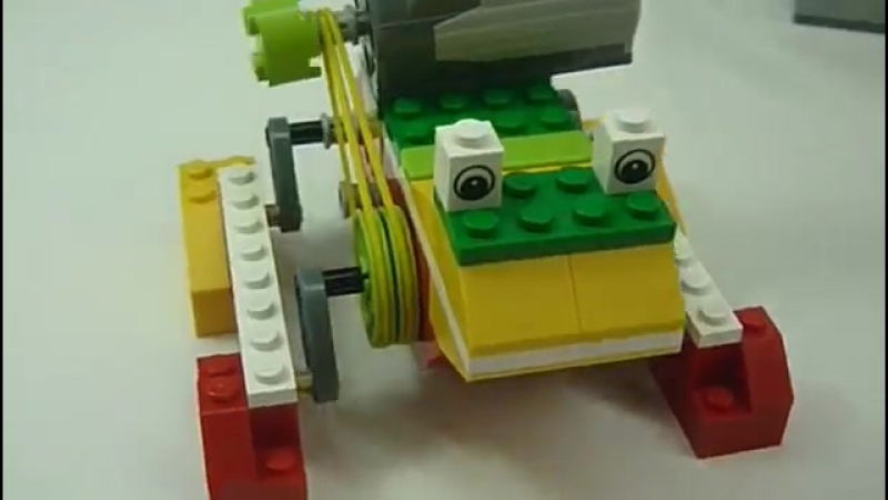 Aula Innovación AIP-CRT- Robótica WEDO LEGO - Ranita